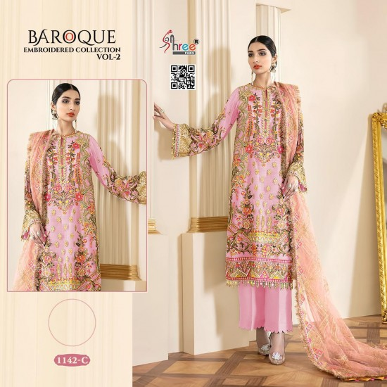 BAROQUE EMBRODERD COLLECTION VOL 2 SHREE FAB