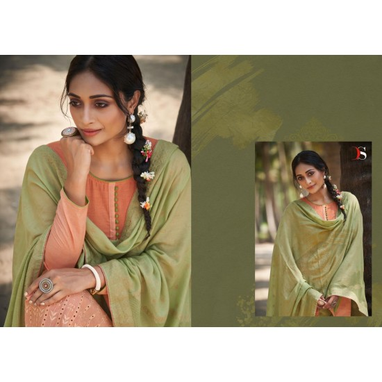 EMBER BY DEEPSY SUITS (Cotton Dupatta)