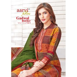 GADWHAL BORDER VOL 5 (cotton duppata)