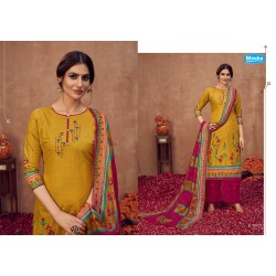 MALAI COTTON VOL 2 MEGHA TEXTILE (Cotton Dupatta)
