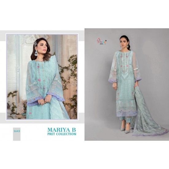 MARIA B PRET COLLECTION SHREE FABS