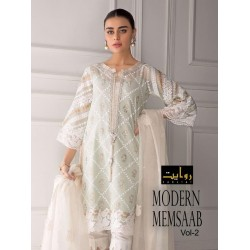 MODERN MENSAAB VOL 2 LAWN COLLECTION 2020 RAWAYAT
