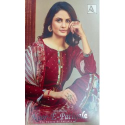 NOOR E PATIYALA 706 ALOK SUITS