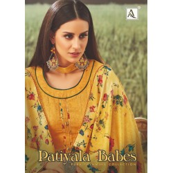 PATIYALA BABES ALOK (Winter Collection)