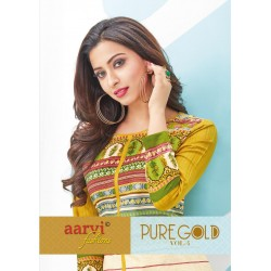 PURE GOLD VOL 4(stitched kurti)