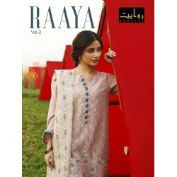 RAAYA VOL 2 LAWN COLLECTION 2021 RAWAYAT