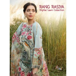 RANG RASIYA DIGITAL LAWN COLLECTION (cotton duppta)