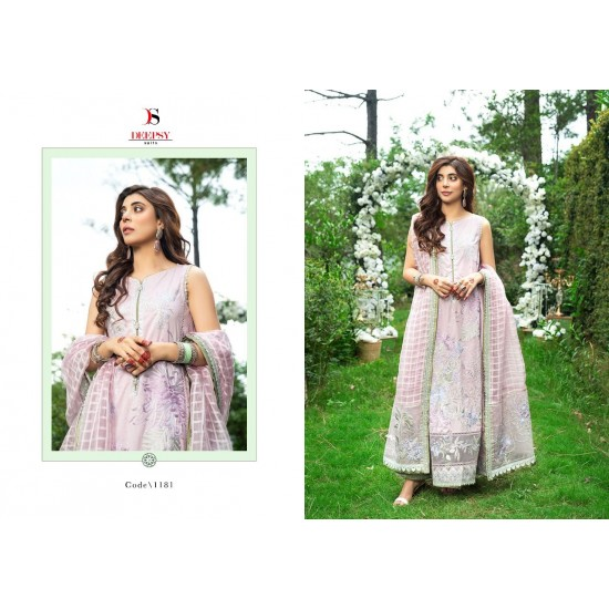 RANGRASIYA EMBROIDERED COLLECTION BY DEEPSY SUITS
